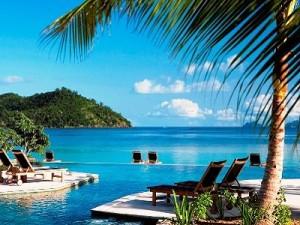 piscina hotel paraiso Fiji