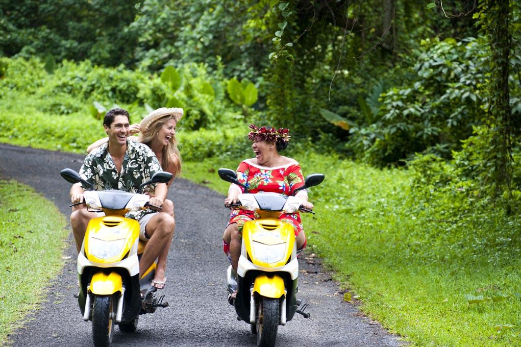 El paraíso de Cook está integrado por 15 islas habitadas por gente amable