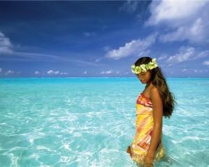 playas paraiso terrenal polinesia