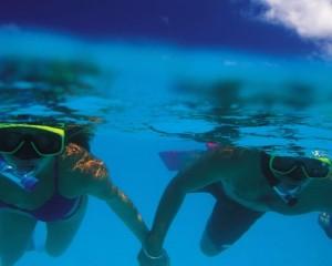snorkel viajar a polinesia