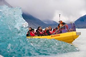 Aventura en Nueva Zelanda tasman glacier