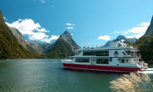 Crucero Miford fiordo nueva Zelanda