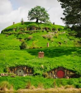 Nueva Zelanda paisaje comarca