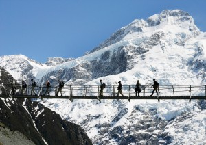 Viajar Nueva Zelanda vistas Cook