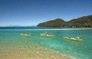 Viajar a Australia Abel Tasman mar