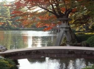Viajar a Japon Jardín Kenroku Otoño Kanazawa
