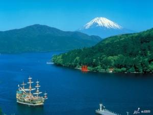Viajar a Japon  Lago Ashi Hakone 2