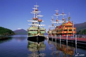 Viajar a Japon Lago Ashi Hakone
