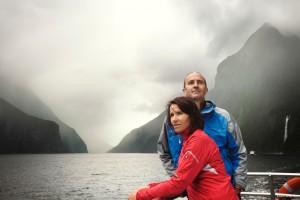 Viajar a Nueva Zelanda crucero Milford Sound