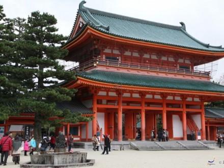 Viajes a Japon Santuario Heian Kyoto 2