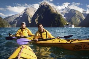 Viajes a Nueva Zelanda Milford Kayak