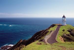 faro cabo reyna Nueva Zelanda