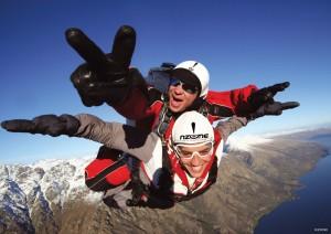 paracaidismo queenstown viajes Nueva Zelanda