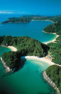 parque nacional abel tasman viajes Nueva Zelanda
