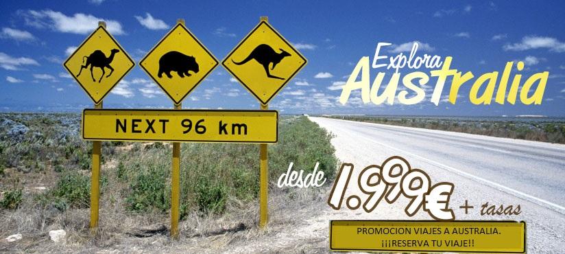 Viajes baratos a Australia