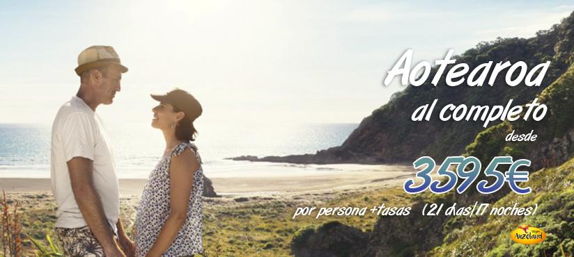 Te asesoramos en elegir el mejor viaje de novios a Nueva Zelanda - Auzeland