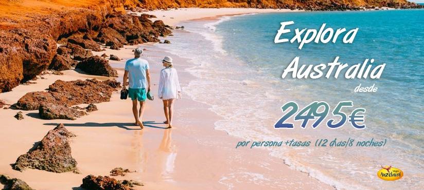 Explora todos los más remotos entornos naturales de Australia - Auzeland agencia de viajes